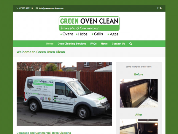 Green Oven Clean