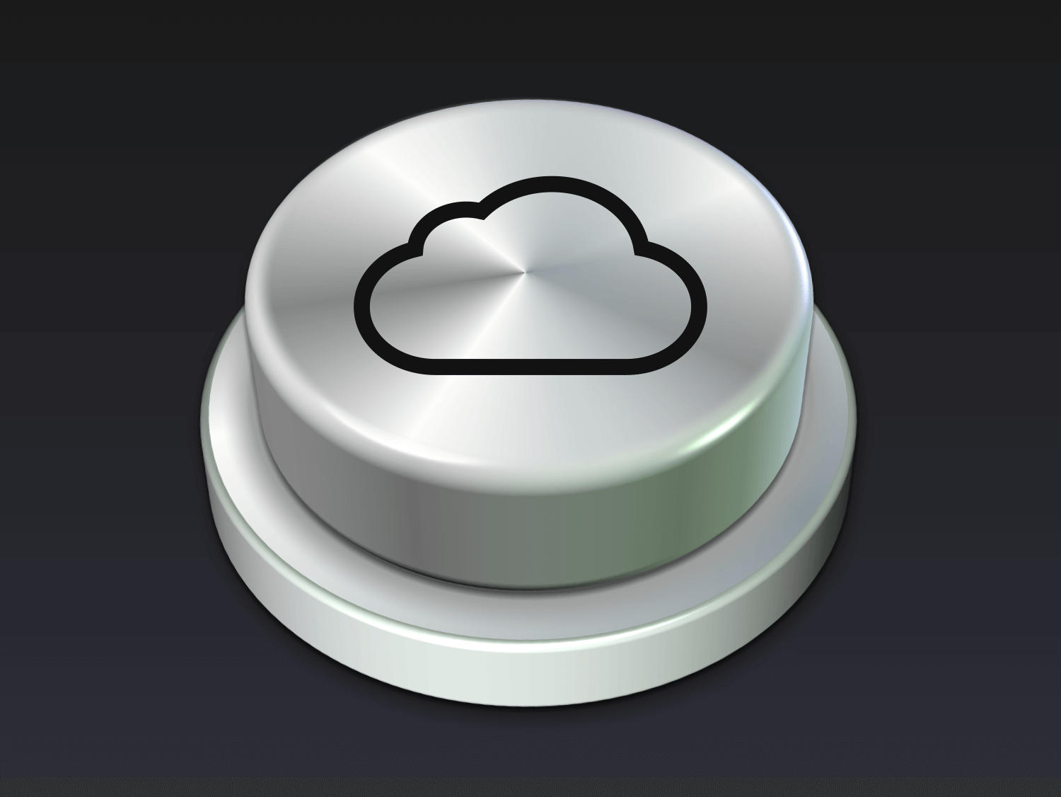 ICloud Button Icon