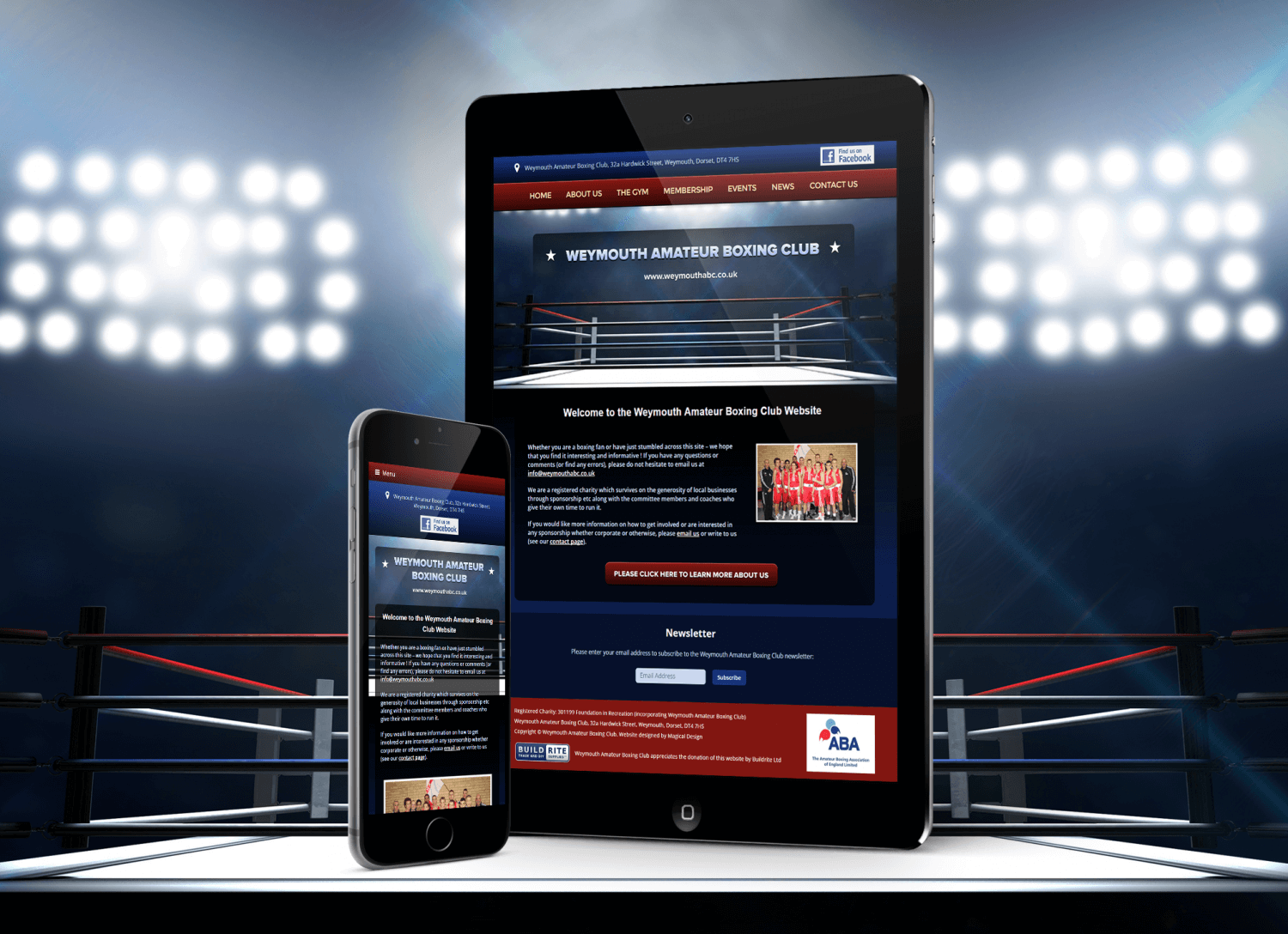 New Weymouth Amateur Boxing Club Website