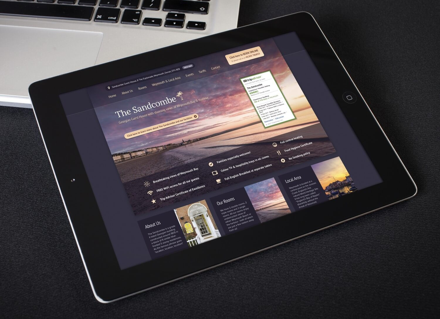 New Website Launch For Weymouth Guest House
