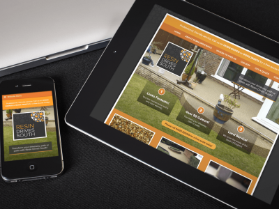 Branding, Stationery And Website Design For Resin Drives South