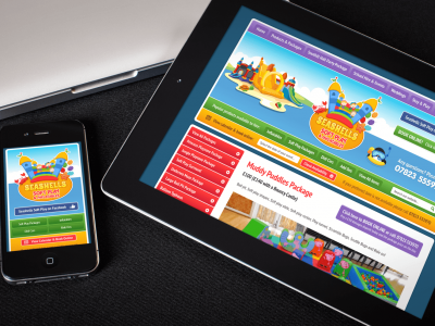 New Website And Online Booking System For Seashells Soft Play
