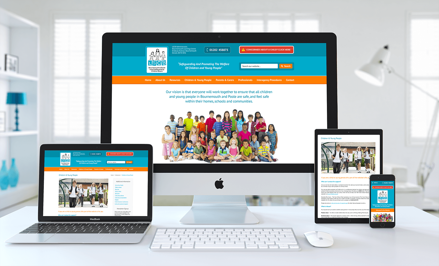 Bournemouth & Poole LSCB Launch New Website