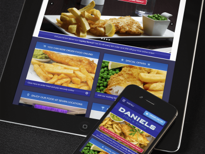 Cooking Up A New Website For Daniels Fish And Chips